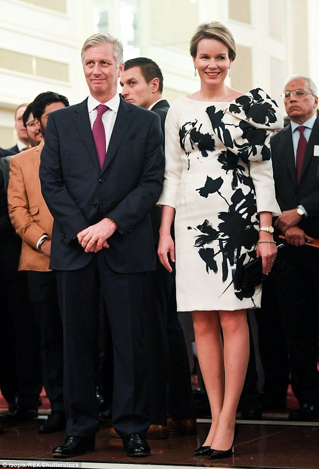 The pair also visited an official singing ceremony on Thursday. After being snapped steppi...