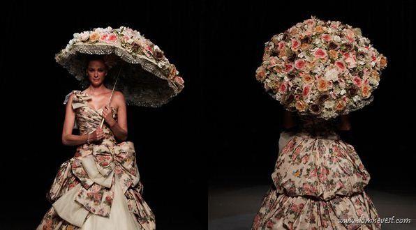 Каким может быть свадебный зонтик