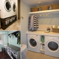 If your laundry room is usually cluttered and you have a hard time using it at laundry time then you need to make some changes and additions in it. We have