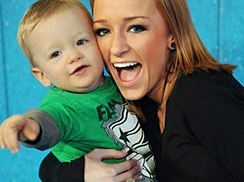 Maci Bookout and Her Simply Precious Son Bentley (: