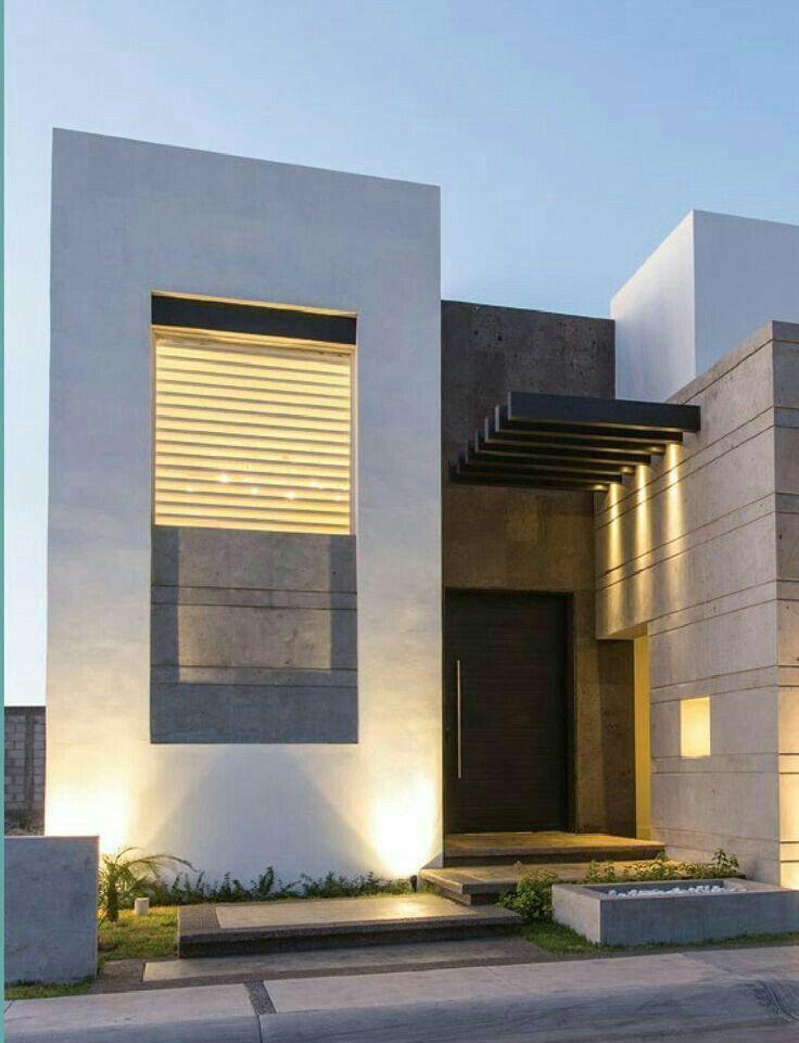 Modern home fachadas en 2019 arquitectura casas for Arquitectura y diseno de casas modernas