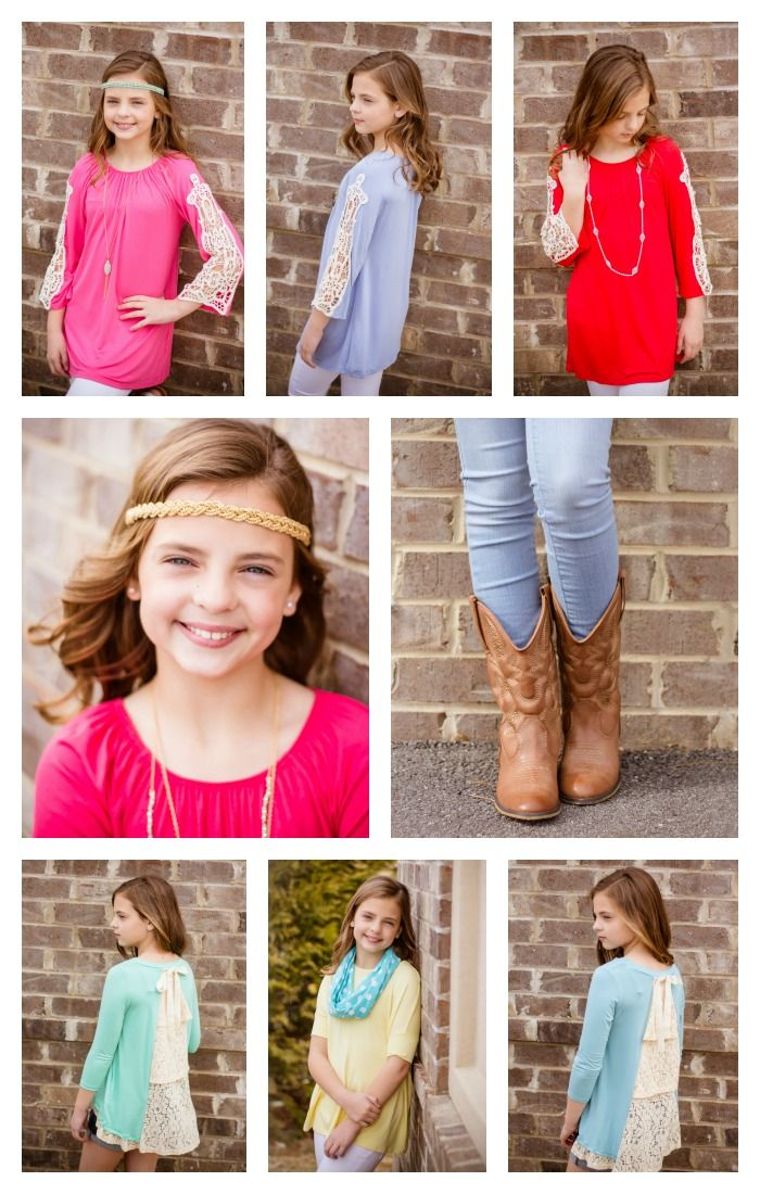 TWEEN clothes and accessories just went LIVE at www.walkerboutique.com! Hurry over and snag your favorite items before they are gone!