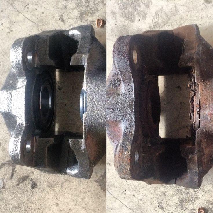New and Old Brake Calipers Brake calipers, Calipers