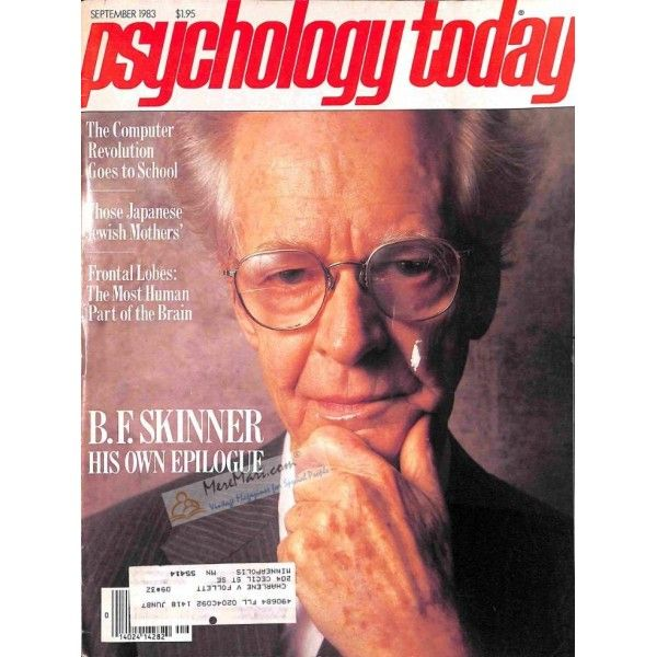 Psychology Today Magazine, September 1983 | $8.82