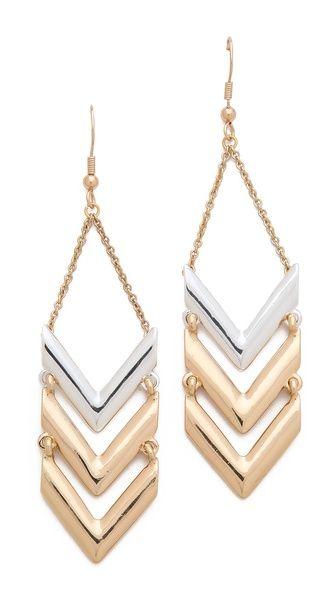 Rose Pierre La Maison Goyard Drop Earrings $38.00
