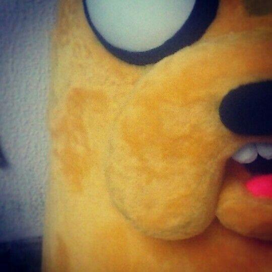 Detalhe, Ta quase pronto!!  #HoraDaAventura #JakeTheDog #AdventureTime #JakeOCao #personagemVivo #personagensVivo #bonecoVivo #BonecosVivo #mascote #mascot #MdteStudio #Klenquen