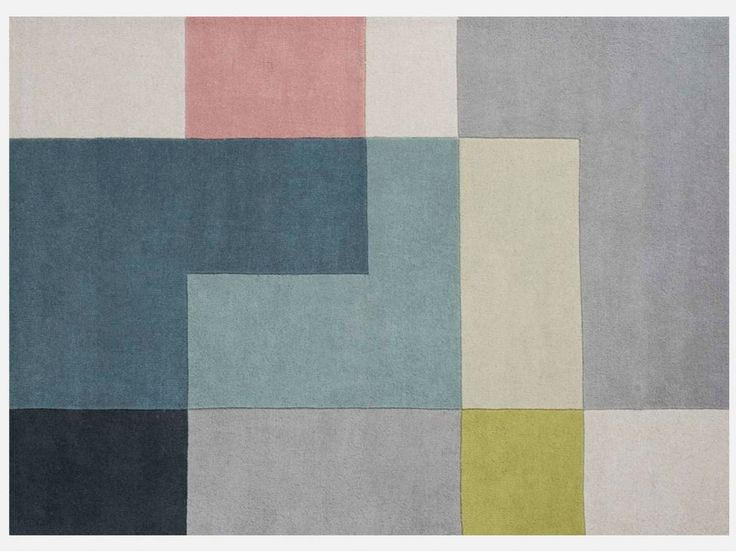 Dywan Tetris Lime 140x200 cm — Dywany Linie Design — sfmeble.pl #dywany #carpet #LinieDesign