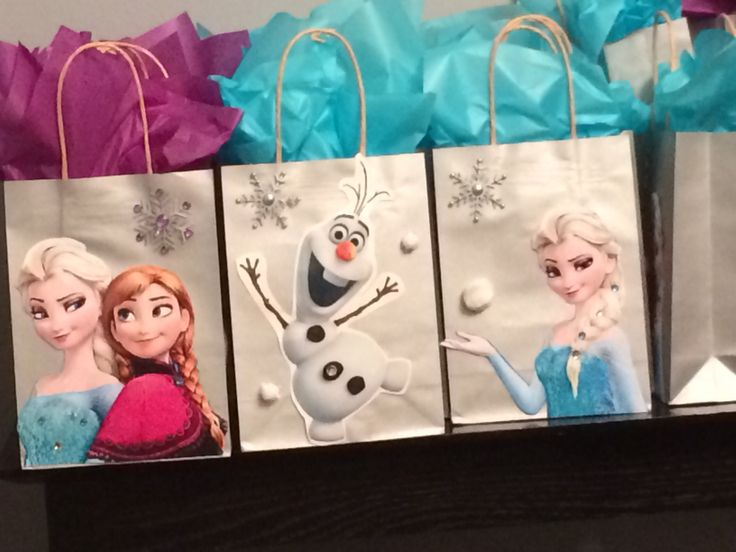 Frozen goodie bags