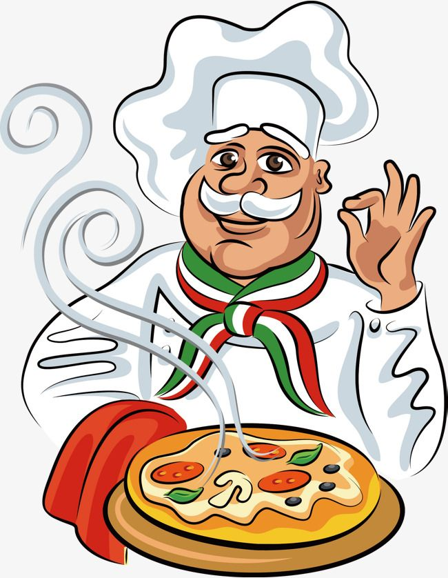 Take The Pizza Cartoon Chef Chef The Man Character Png And Vector Desenho Pizzaria Papai Noel Desenho Ilustracoes