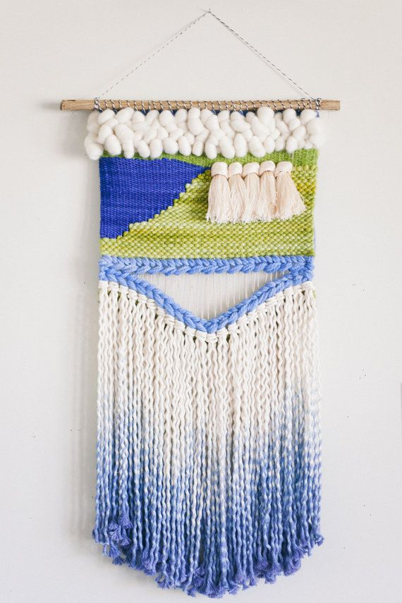 electric ladyland / wall hanging weaving tapestry por habitstudio