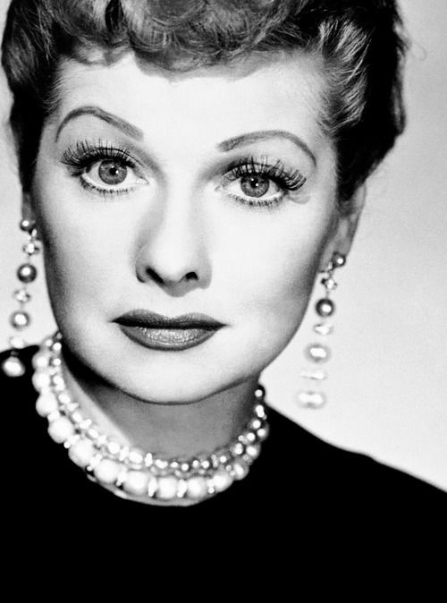 what a hysterically funny comedian, Lucille Ball!