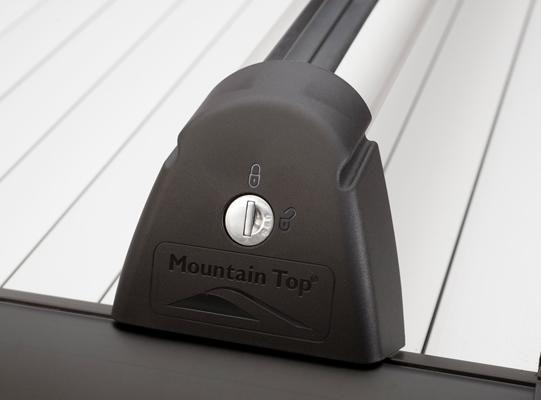 Mountain Top Roll Cross Bars WT - Ford Ranger Wildtrak Roller Shutter 2012+