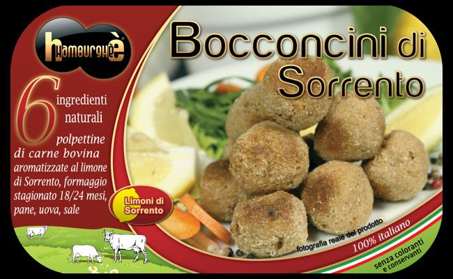 Packaging Bocconcini di Sorrento