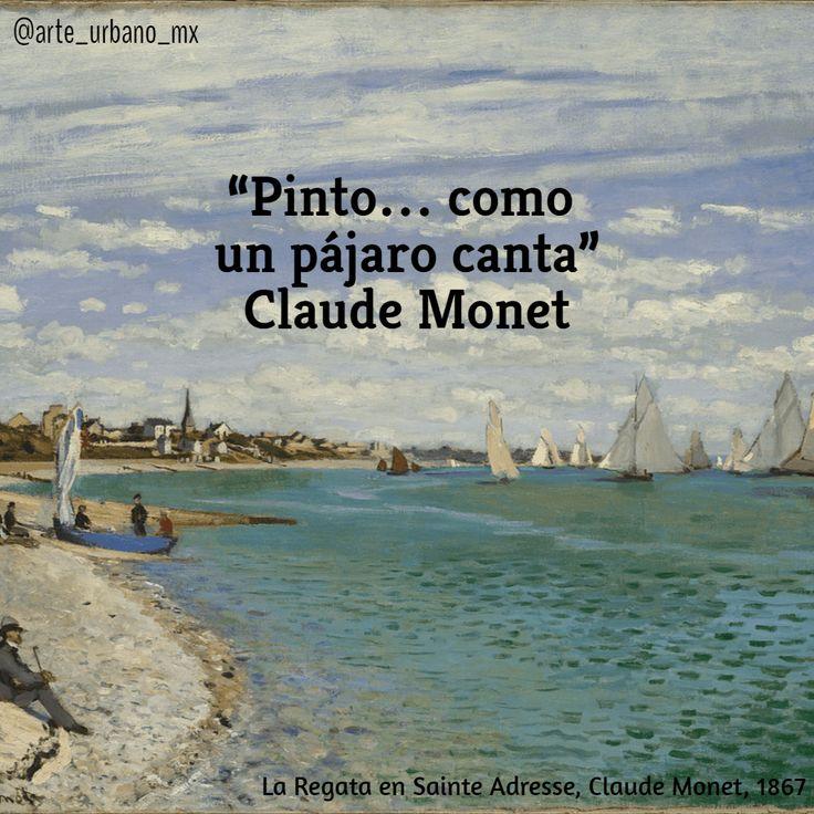 """Claude Monet fue un pintor francés, uno de los creadores del impresionismo. El término impresionismo deriva del título de su obra Impresión, sol naciente.   """"Pinto...como un pájaro canta.""""  Síguenos también en:   Instagram: https://www.instagram.com/arte_urbano_mx  Facebook: https://www.facebook.com/arteurbanomx"""