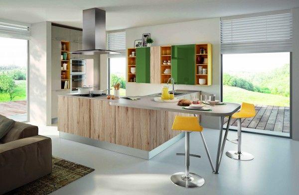Cucine Lube presenta il modello SWING