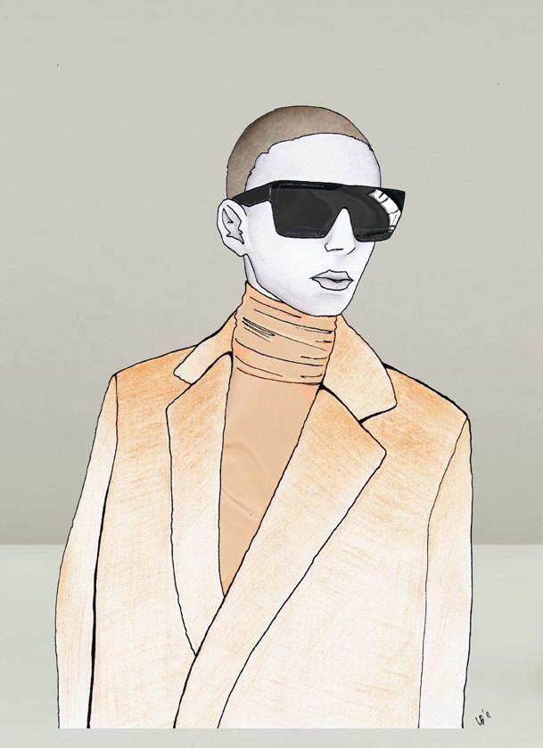 Illustrazione tecnica mista (disegno a mano libera, colorazione matita colorata e rendering in digitale)   (Nineties Nostalgia, formato 210x297mm October 2011)