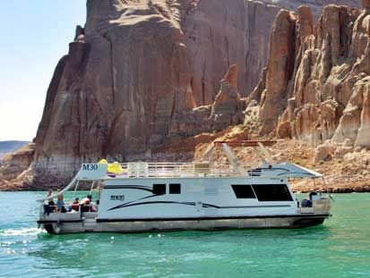 Lake Powell Economy Houseboat - The Adventurer - Lakepowell.com