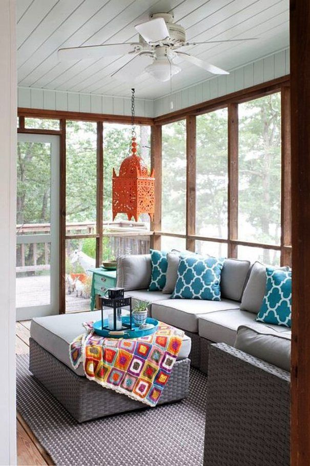 Image Result For Decorate A Screened In Porch Decoración