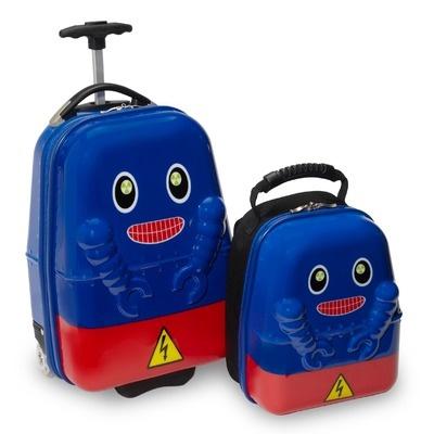 Travel Buddies 2 Piece Rusty Robot Children's Luggage Set