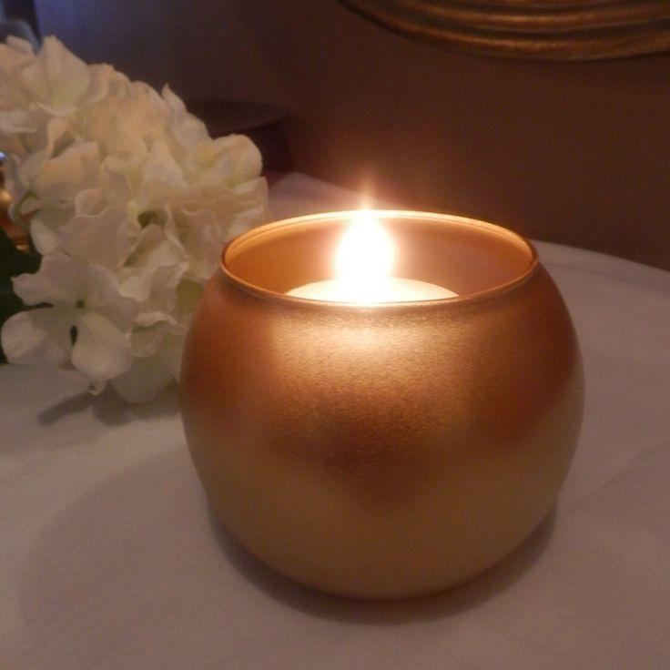 Best gold votive candle holders ideas on pinterest