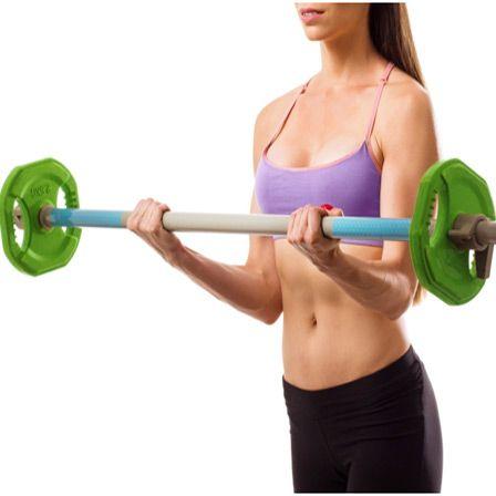 Top 10 Barbell Exercises For Women: http://www.stylecraze.com/articles/barbell-exercises-for-women/