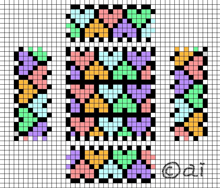 17 best images about perler beads snowflakes hearts box perler bead pattern