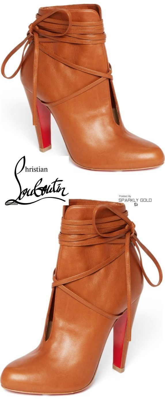 Adorable fall fashion! Super cute Autumn boots christian louboutin boots perfect for the chilly weather!