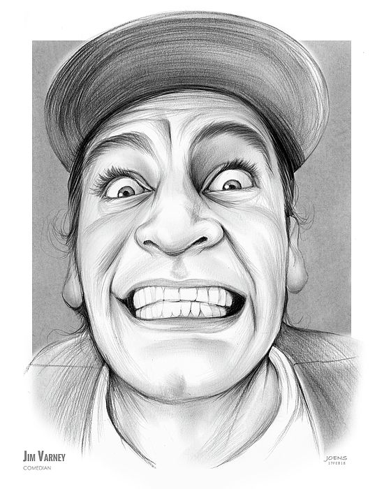 Jim Varney Sketch of the Day.  James Albert Varney Jr. was an American actor, comedian, and writer, best known for his role as Ernest P. Worrell, who was used in numerous television commercial advertising campaigns and films, earning him fame worldwide and a Daytime Emmy Award. Wikipedia