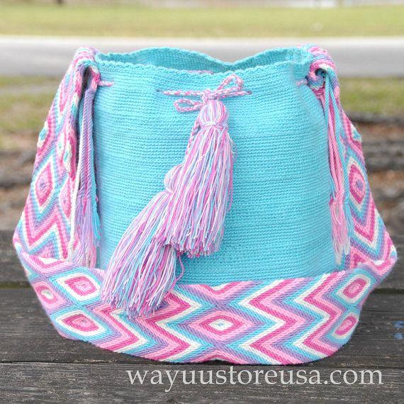 Bohemian Tribal Bag Wayuu Bags Boho Bag Wayuu by loveandlucky