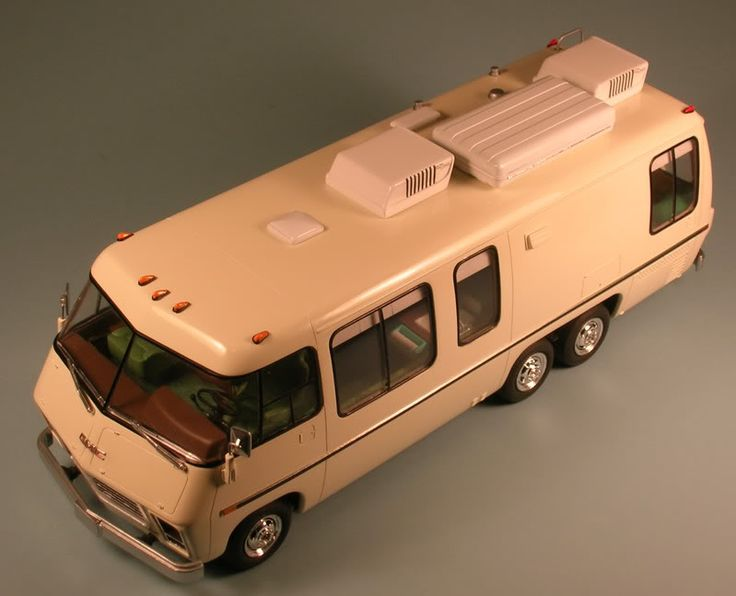 My next project making an semi accurate gmc motorhome for Define commercial motor vehicle