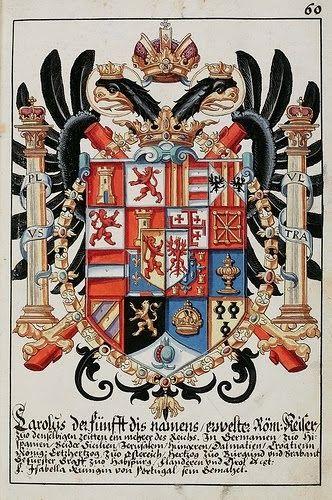 Publicado originalmente en ingés el 13.04.10         Aguila de dos cabezas, escudo del rey Carlos I de España y V (Emperador de Alemani...