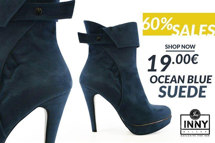O:) O:) UP TO 60% SALES O:) O:) ΠΡΟΣΟΦΡΑ ΓΝΩΡΙΜΙΑΣ ΜΟΝΟ ΜΕ 1900  Γνωρίστε την INNY MILANO με μοναδικά σχέδια και τιμές!!  Μποτάκι Ocean Blue Suede  Κωδικός.: 8615  Τιμή: 1900  ΤΡΟΠΟΙ ΠΑΡΑΓΓΕΛΙΑΣ: 1) Τηλεφωνικώς: 210.5719863 2) Μέσω Facebook: Αποστολή μηνύματος inbox. 3) Αποστολή email στο: s.koutroulis1990@gmail.com ________________________________  Έξοδα αποστολής και τρόποι πληρωμής Έξοδα αποστολής 3 σε ΟΛΗ ΤΗΝ ΕΛΛΑΔΑ!!! Δωρεάν Αλλαγή & Επιστροφή  Άμεση Παράδοση έως 3 μέρες Πληρωμή στον…