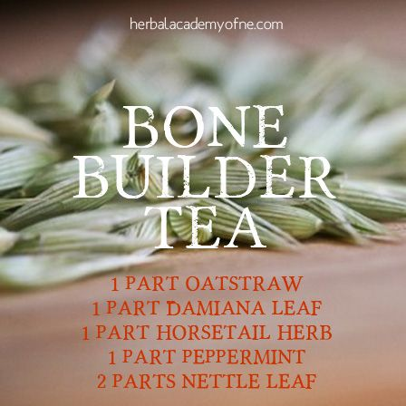 Bone Builder Tea http://herbalacademyofne.com/2013/08/oats-herbs-we-love-for-summer/