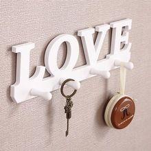 Bird/diseño del amor diy decorativo estante de la pared con el gancho clave titular de almacenamiento de baño montado en la pared de almacenamiento en rack colgador de la repisa estante(China (Mainland))