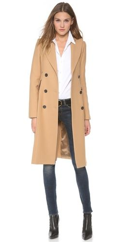 SMYTHE Reefer Coat   SHOPBOP...love the coat..classic style will last for years if it's made of top notch quality