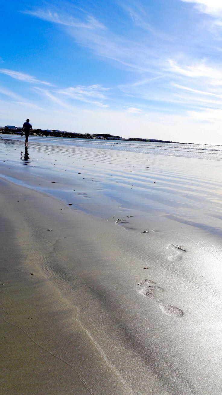 #footprints #beach #travel