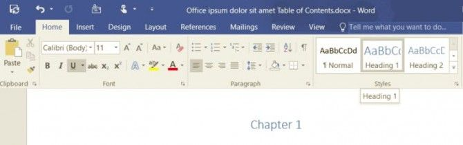 How to Add a Table of Contents in Word 2016 - Want to add a table of contents to your Word document, one that can be easily updated if you change your doc? It's a cinch to use this helpful feature. All you have to do is format your Word document appropriately. - See more at: http://www.laptopmag.com/articles/add-table-contents-microsoft-word#sthash.WwsCmJcB.dpuf
