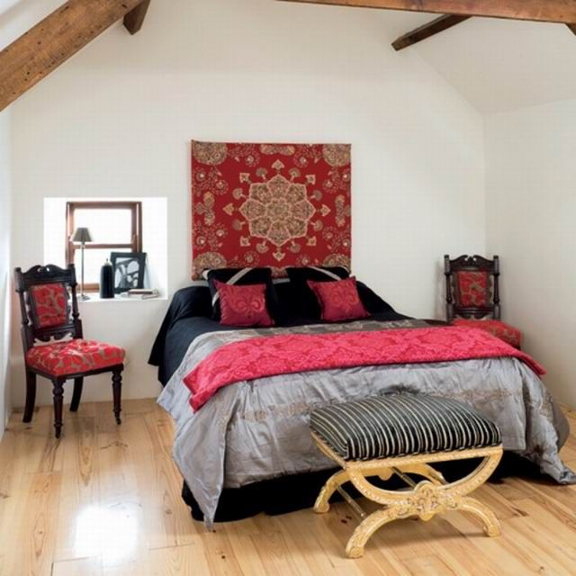 Bedroom Design Ideas Red 84 best color: red home decor images on pinterest   color red