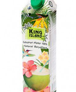 100 % Кокосовая вода без сахара (Amarica) KING ISLAND, 1000