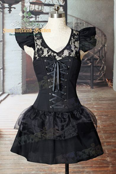 45 Best Images About Gothic Corset Dresses On Pinterest