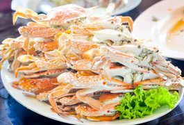 Like any shellfish, crabs are highly perishable and their quality deteriorates quickly once they're taken from the sea. In populous coastal areas it's possible to buy good quality fresh crab, but in much of the country, the best option is frozen snow crab or king crab legs. These are cooked in light brine and flash-frozen right on the boats that...