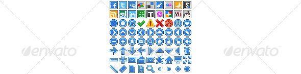 Pixelity Web Iconset