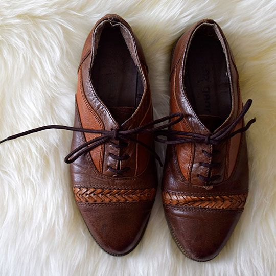 Made By Mee + Co | Two Tone Leather Shoes