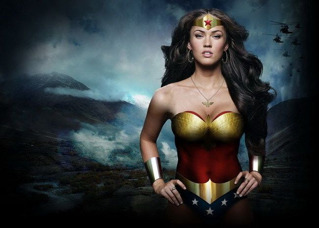 "36 Megan Fox Wonder Woman Star Model 34""x24"" Poster #Affiliate"