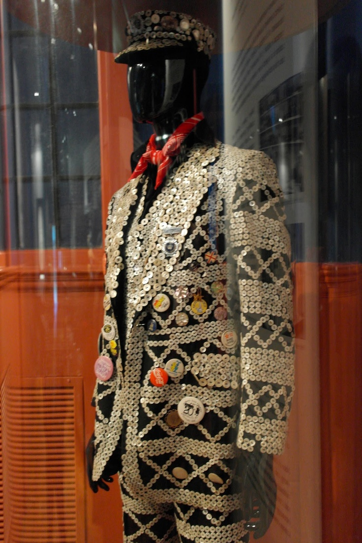Pearly King suit, Horniman Museum.
