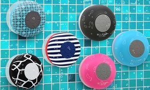 Groupon - Aduro AQUASound Bluetooth Shower Speaker with Mic and Controls  in [missing {{location}} value]. Groupon deal price: $16.99