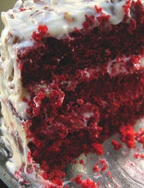 RED VELVET CAKE 1 teaspoon vanilla 1 cup buttermilk 1 teaspoon salt 2 1/2 cups cake flour 3 sticks butter, 2 for cake, 1 (softened) for icing 2 oz red ...