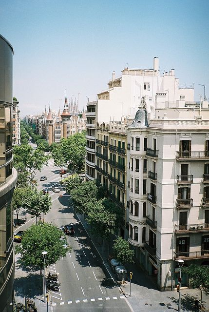 Barcelona- The principal city of Catalonia and the second largest city in Spain (population about 2,000,000). It is Spain's largest seaport (Mediterranean Sea), and the main industrial city. Nearby is the famous monastery of Montserrat.