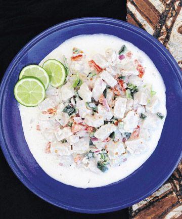 ota ika, Tongan-style marinated fish