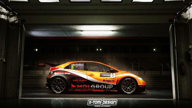 WTCC Zengő Team Honda Civic 2014 World Champion